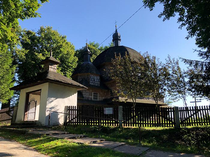 Perła architektury drewnianej z Hrebennego