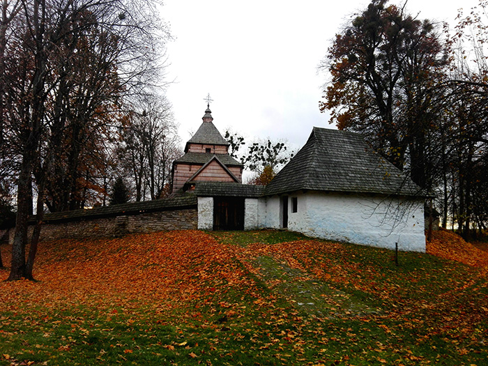 Roztocze Wschodnie – cerkwie drewniane